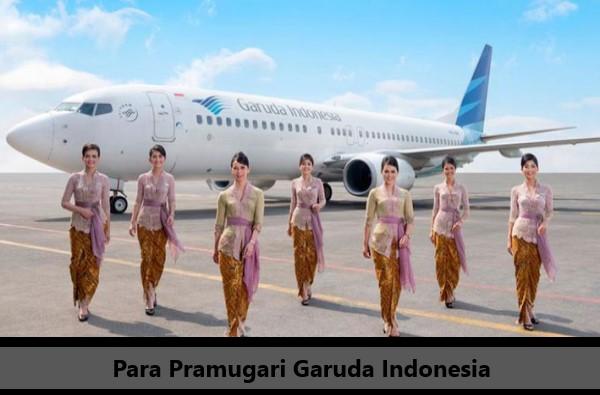 Contoh Pramugari Garuda Indonesia