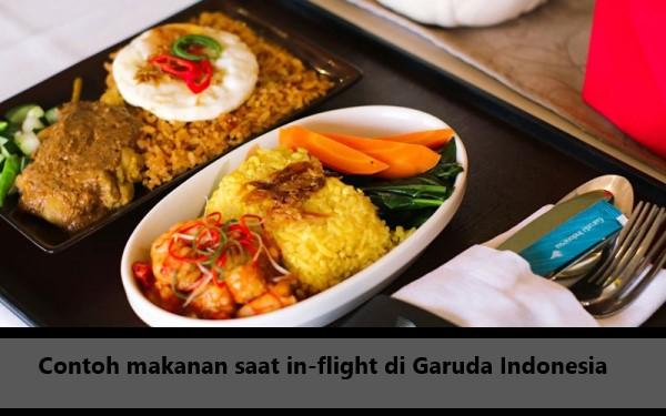 Menu Makanan Garuda Indoneisa